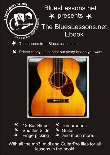 BluesLesson Ebook Cover